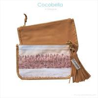 Tahiti キャンバス & レザー バッグ [Cocobella lifestyle] 海外受注