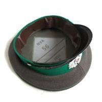 送料無料 東ドイツ軍放出 国境警備隊制帽未使用デットストック 55cm