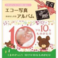エコー写真が収納できる母子手帳サイズのアルバムです。  人気のくまのがっこうと作るものがたり。  赤...