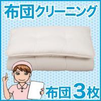 ■商品名:布団クリーニング・丸洗い(フレスコeパック) 3枚用 ■内容:掛け布団もしくは敷布団 3枚...