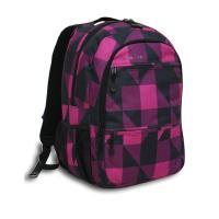 バッグ バックパック ディパック デイパック リュックサック リュック 幾何学デザイン 青 ピンク
