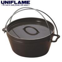 UNIFLAME ユニフレーム ダッチオーブンスーパーディープ 10インチ 〔キャンプ用品 クッカー カトラリー〕 (NC):660973|mammutstore-paddle