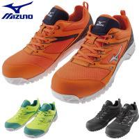 安全靴 ミズノ MIZUNO オールマイティ VS F1GA1803 紐靴 JSAA規格 メンズ レディース おしゃれ メッシュ