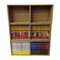 ※画像は本棚を3つ積み重ねています。  新書版、B6版、完全版コミックスが収納できる組立型ダンボール...