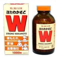 「強力わかもと 1000錠」は、消化・整調・栄養補給の3つの働きを持った胃腸薬です。アスペルギス・オ...