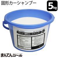 【仕様】 ・名称:自動車用洗剤 ・種類:固形(コンパウンド無し) ・液性/容量:弱アルカリ性/5kg...