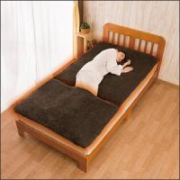 就寝時に冷えやすい足元を、吸湿発熱加工を施した肌触りのよいボア生地で優しく包み込みます。脚がスッポリ...