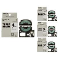 「テプラ」PROシリーズ専用の白ラベル・黒文字のテープカートリッジになります。