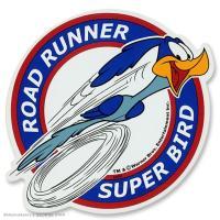 ルーニー・テューンズの中でも特に人気の高い「ロード・ランナー」のステッカー・デカールです。  UV加...