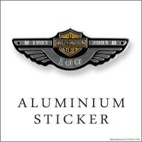 車やバイクなんかに貼り付けて、簡単にカスタムを楽しめるアルミニウム・ステッカー!  裏面には強力両面...