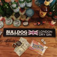 イギリスの高級ジン「BULLDOG London DRY GIN(ブルドッグ・ジン)」のラバー製バー...