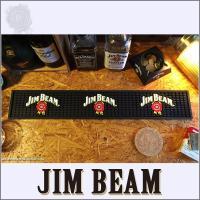 世界最大のバーボンブランド、ジムビームのバーマット!\( ̄∇ ̄+)  純粋にバーマットとして使うのは...