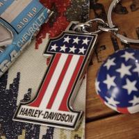 アメリカを代表するモーターサイクル「ハーレーダビッドソン」のオフィシャルライセンス・キーホルダー! ...