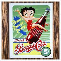 セクシーキャラのBETTY BOOP'S ベティーちゃんの可愛らしいベティーブランドのコーラのCMサ...
