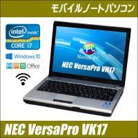 ■機種:NEC VersaPro VK17HB-D ■液晶:12.1インチ ワイド液晶 WXGA 解...