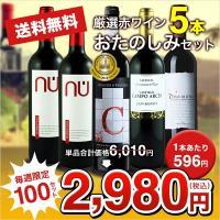 ・厳選された赤ワインの飲み比べ5本セットです。  【セット内容】 ●マルケス・デ・レケナ クリアンサ...