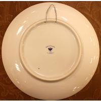 ロシア ロモノーソフ陶器 インペリアル ポーセレン 絵皿 イースター柄  20cm