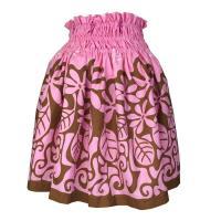 フラのレッスンがもっと楽しくなる一着です。 かわいいパウスカートで楽しいフラダンス!! 使用生地量3...