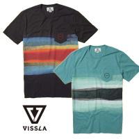 VISSLAらしい独特なデザインを裏地染めした半袖Tシャツ。  【カラー】・PHA ・DKJ   【...