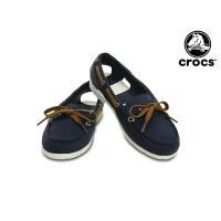 クロックス crocs beach line hybrid boat shoe サンダル スニーカー...