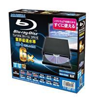 スリムポータブルドライブ USB2.0 Blu-ray『Media Suite Pro』付属  【C...