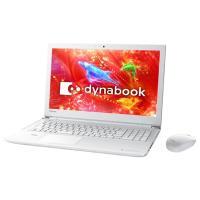 メーカー:東芝 TOSHIBA 型番:PT75DWS-BJA3 モデル名:dynabook T75/...