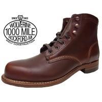 1883年創業の伝統あるWOLVERINE社が自信を持って作り続けるワークブーツ。それが【1000M...