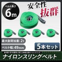 ■商品詳細 玉掛作業・吊り作業にどうぞ!本格仕様のベルトスリングです。 強度、耐荷、耐久性に優れいて...