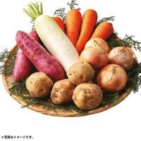 ●商品名:オーガニック野菜5種詰合せセット 【220_冬】 ●[じゃがいも・玉ねぎ]北海道産、[大根...