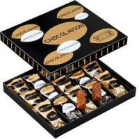 ■説明 ベルギー産チョコレートに練り込んだ、香ばしいプラリネや砕いたフイユティーヌ、クッキーなどが、...