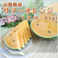"""◆夏すいか生産量日本一!""""山形県尾花沢市""""のすいかです。爽やかな甘みと、みずみずしい果汁がタップリで..."""