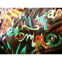 長袖 丸襟ブラウス チュニック丈  黒×グレー 黒×暖色 (トクコプルミエヴォル TOKUKO レナウン)ファンタジー
