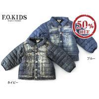 Gジャンを着ているような転写のデザインがとっても可愛い転写ジャケットがF.O.KIDSから入荷しまし...