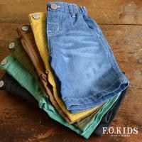 しっかりとした素材ながら薄手で履きやすいハーフパンツがF.O.KIDSから入荷しました(・∀・)♪*...