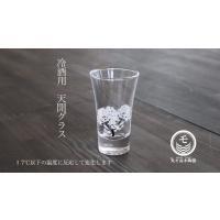 冷感桜 グラス天開ペアセット お酒をより楽しむためのおしゃれな酒器!