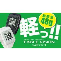 『朝日ゴルフ EAGLE VISION Watch3(EV-616)』 【高低差表示機能付腕時計型 ...