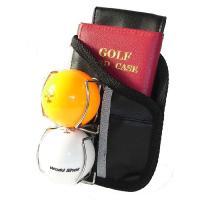 ■パークゴルフやグラウンドゴルフに使えるポーチです。 ■カードケースとボール2個が収納できる便利で手...