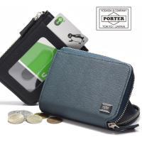 コインケースとパスケースが一体になった手のひらサイズの小銭入れです。小銭収納部に付属してるキーチェー...