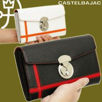 セカンドバッグのようなお財布です。L字ファスナーポケットが1つ。 通帳収納可能。カードポケットは24...