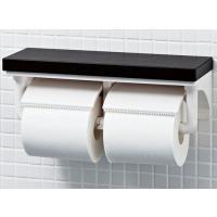 棚付2連紙巻器ならストックがひとつ置けるだけでなく、さまざまな使い勝手に対応できます。 ・インテリア...