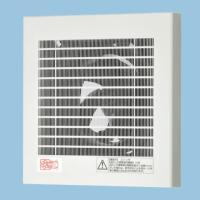 【品名】: 排気 プロペラファン 壁・天井取付 小風量形 角形格子ルーバー・フィルター付 適用パイプ...