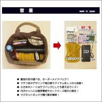ミニトートバッグ 11 刺し子 薄茶 ベージュ 裏地が選べる 鞄 カバン バッグ 厚手 小さめ ミニ オーダーメイド サブバッグ 綿100%