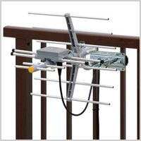 ベランダの格子や軒先に設置できる小型UHFアンテナです。 水平・垂直偏波対応 強電界地域用  【商品...