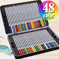 大人気!大人の方の塗り絵にぴったり!水彩画やぬりえに最適な水彩色鉛筆。 油性色鉛筆と異なり、色を塗っ...