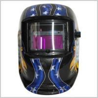溶接作業に用いるマスクです。 光に合わせて自動で視界を暗くする機能を搭載しています。 遮光度調節用の...