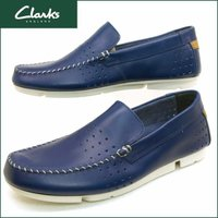 ■商品概要■ Clarks Trimocc Sun  #26115306 Blue Leather ...