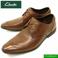 ■商品概要■ Clarks Bampton Limit #26119792 Tan Leather ...