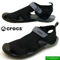■商品概要■ crocs swiftwater mesh sandal w クロックス スウィフトウ...