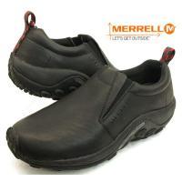 MERRELL Jungle Moc メレル ジャングルモック ブラックオイルレザー No.5671...