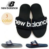 ■商品概要■ New Balance ニューバランス スライドサンダル M3056 アッパー:人工皮...